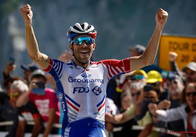 Marc Madiot schreeuwt Pinot naar de overwinning op Tourmalet
