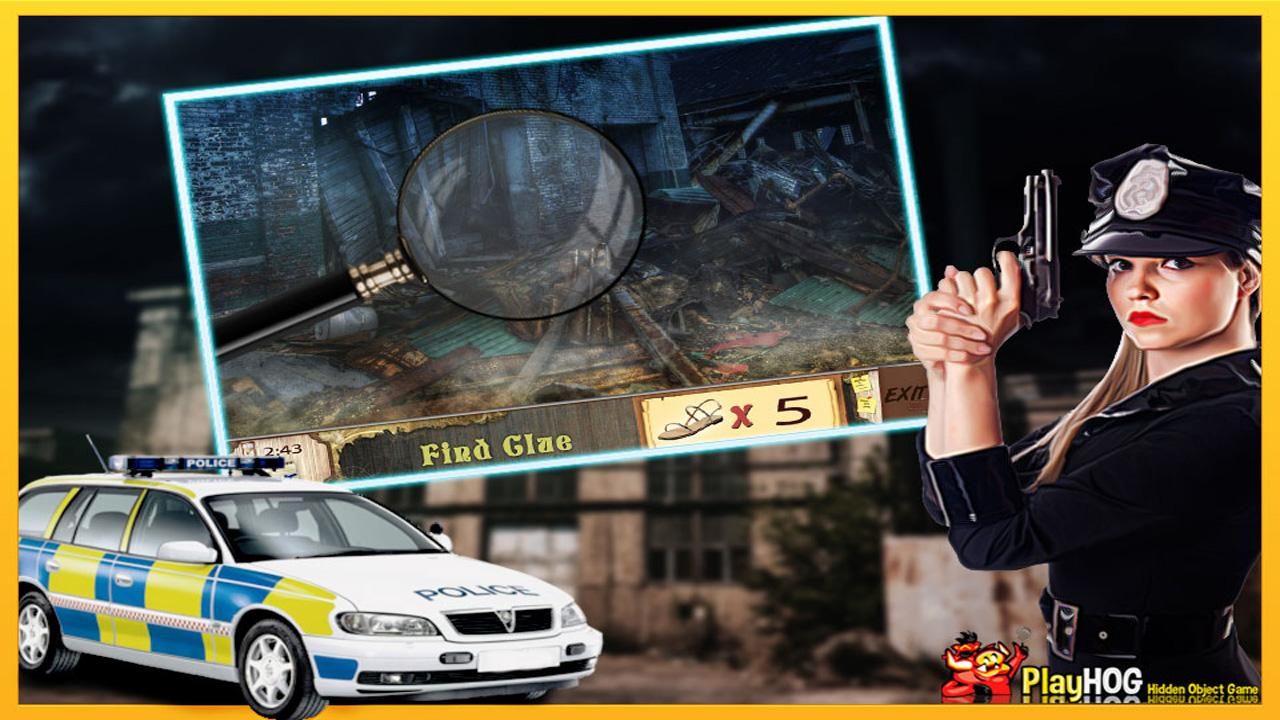 New Free Hidden Objects Games Free New Cold Case- screenshot
