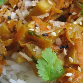 Amazing Simple Thai Tofu.