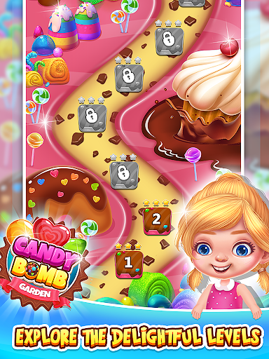Sweet Candy Bomb - Match 3 Games Apk by Tec Games - wikiapk com