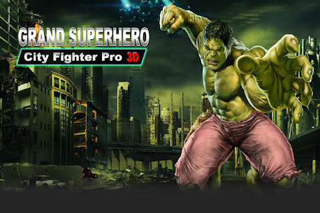 Grand Superhero City Fighter Pro: Robot Adventure 7
