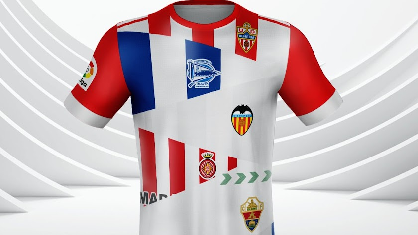 El Almería subió esta imagen con los equipos afectados.
