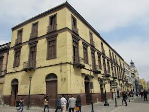 Photo: El edificio Bar Restaurante Cordano Centro de Lima Mayo - 2014