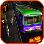 Halloween Party Bus Driver 3D 1.1 Apk