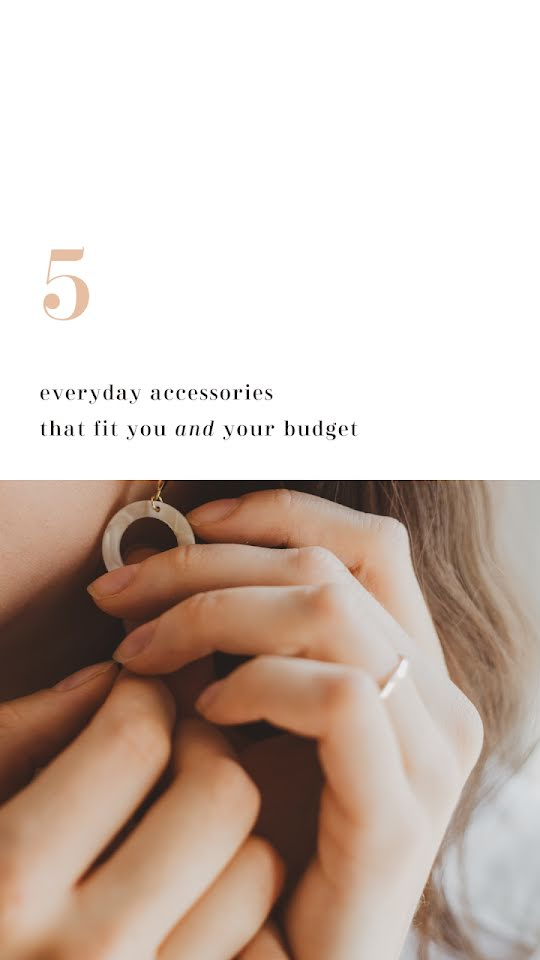 Everyday Accessories - Facebook Story Template