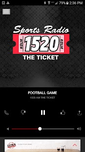 1520 The Ticket - Rochester Sports Radio (KOLM)- screenshot thumbnail