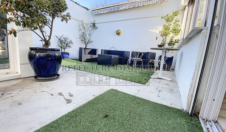 Villa en bord de mer avec jardin Carnon plage