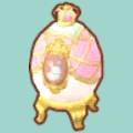 ピンクのエッグランプ