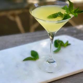 Pineapple Mint Martini.