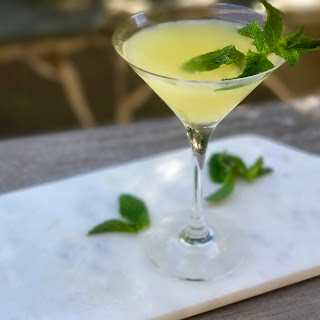 Pineapple Mint Martini.