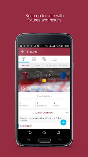 Fan App for West Ham United FC
