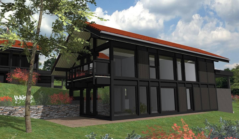 Maison contemporaine avec jardin Pringy