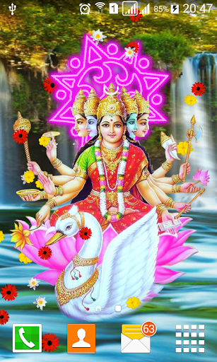 Lord Gayatri Live Wallpaper