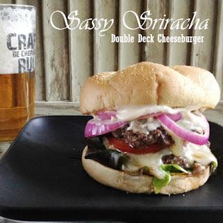 Sassy Sriracha Double Decker Cheeseburger