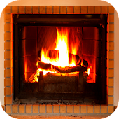 Virtual Fireplace 3D Wallpaper