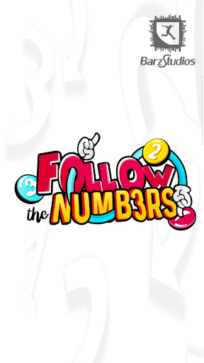 Follow the Numbers - Puzzle Game  screenshots 1