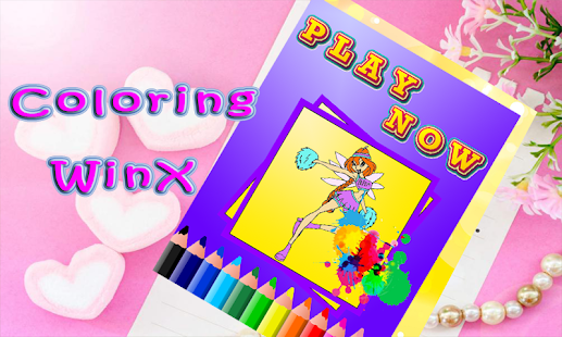 Download Winx Coloring Book For PC Windows And Mac Apk Screenshot 4