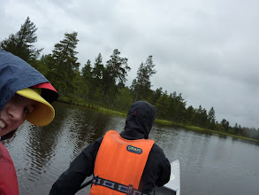 Photo: Ok, not sail but paddle