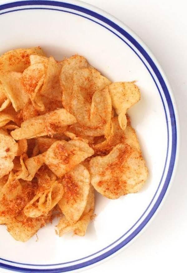 Kicked Up Potato Chips