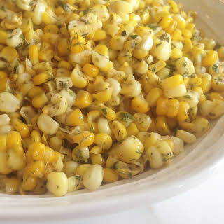 Buttery Herbed Corn.