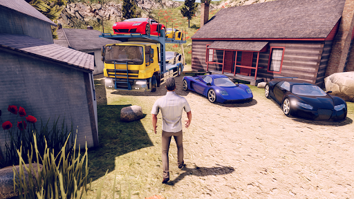 John: Truck Car Transport  screenshots 14