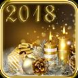 2018 & Gold Christmas Theme