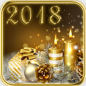 2018 & Gold Christmas Theme