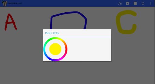Finger paint ( Kids Art Game) 2.1.3 screenshots 3