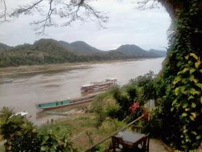 Photo: Der Mekong bei Luangprabang