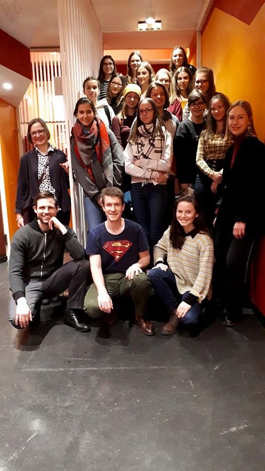 Deutschunterricht im Theater