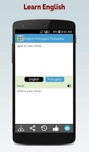 Portuguese English Translator - náhled