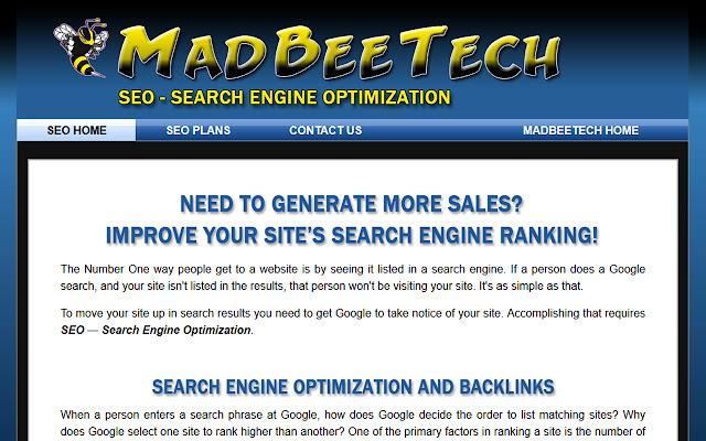 MadBeeTech Search Engine Optimization