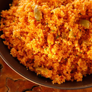 Spanishy Couscous Salad