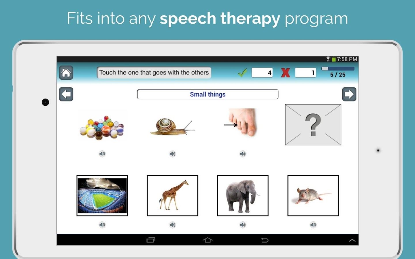 Category Therapy: Categories- screenshot