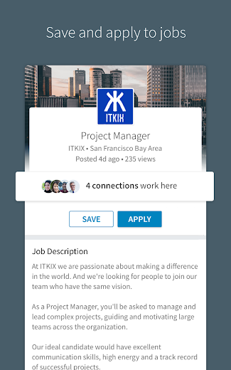 Screenshot 5 for LinkedIn's Android app'
