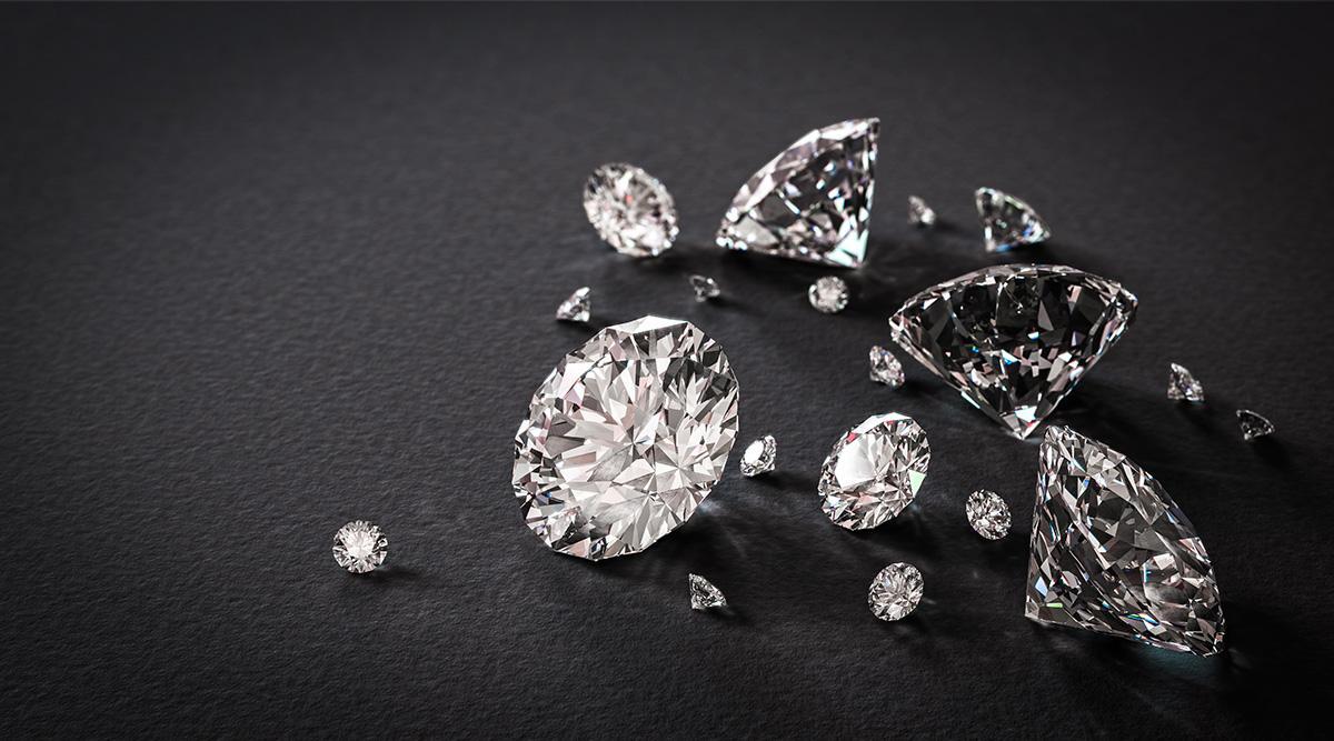 Сяючі діаманти