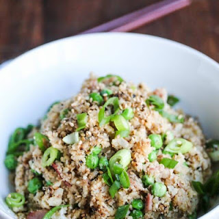Bacon Cauliflower Garlic Fried Rice