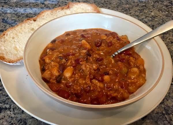 Tomato Soup Turkey Chili Recipe
