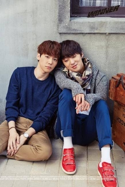 WINNER Jinwoo and Seungyoon