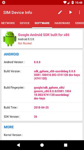 SIM Device Info 6.0 screenshots 5
