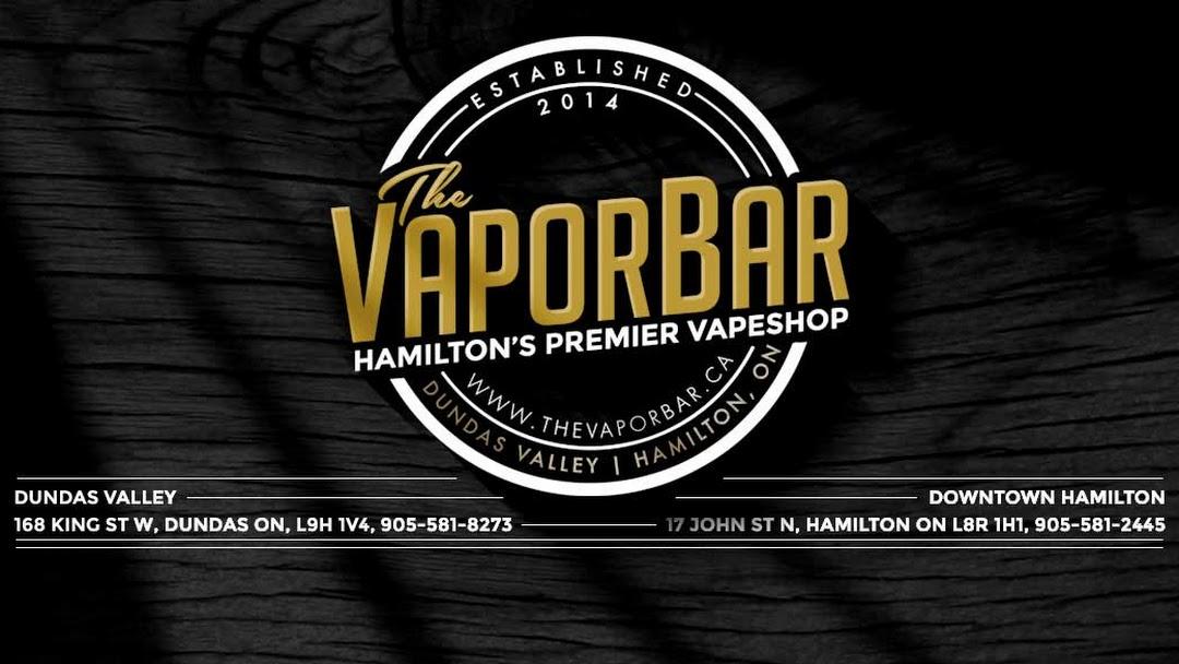 The Vapor Bar - Hamilton - Vaporizer Store in Hamilton