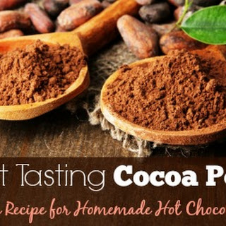Unsweetened Cocoa Powder Drink Recipes.