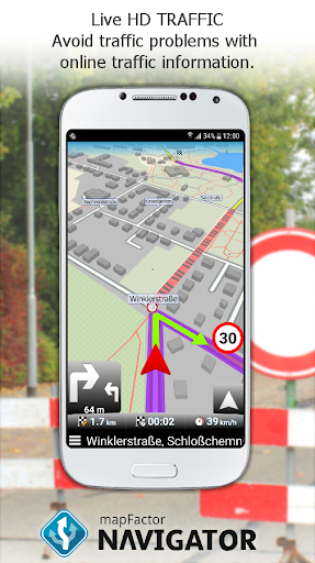 MapFactor GPS Navigation Maps  screenshots 6