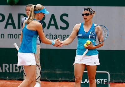 Kirsten Flipkens brengt met Zweedse dubbelpartner ommekeer teweeg en bereikt halve finales