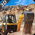Dump & Loader Truck Free icon