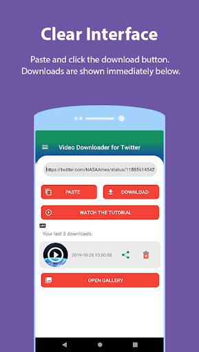 Video Downloader for Twitter screenshots 3