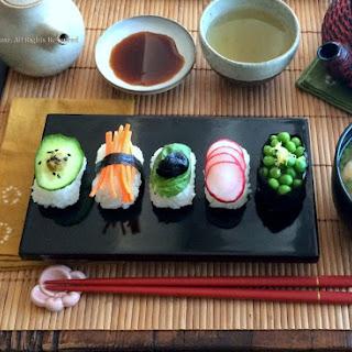 Veggie Nigiri Sushi