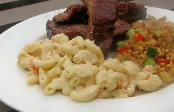 Hawaiian Mac Salad Recipe