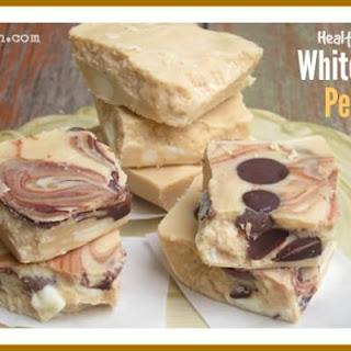 White Chocolate Peanut Butter Fudge.