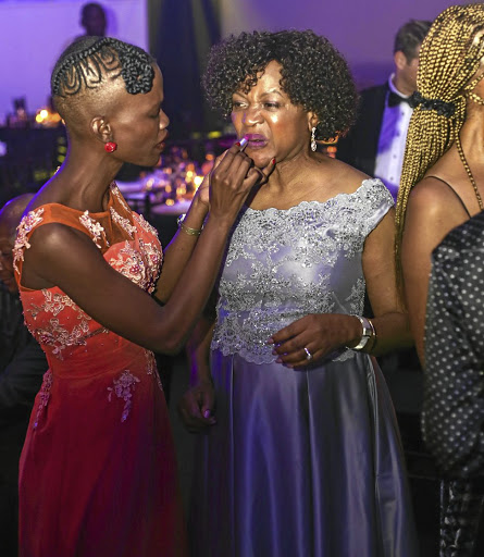 National Assembly speaker Baleka Mbete prepares for the 'Speaker's Ball' in Cape Town last year. Picture: Adrian de Kock
